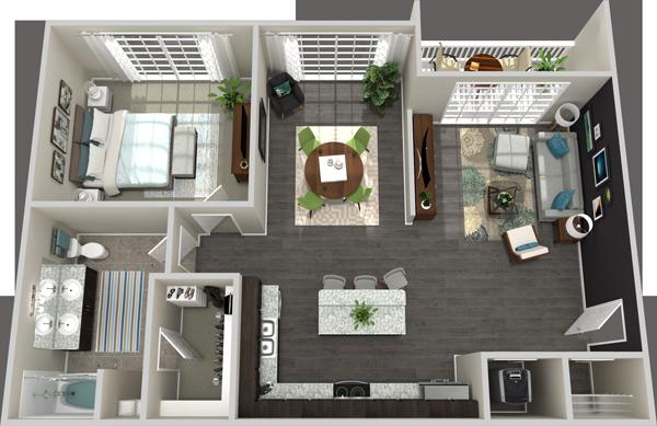 Standard 3D Floor Plans | Floor Plans 3D
