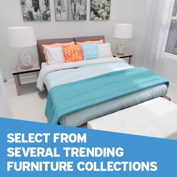 Add the Furniture Collection of Your Choice