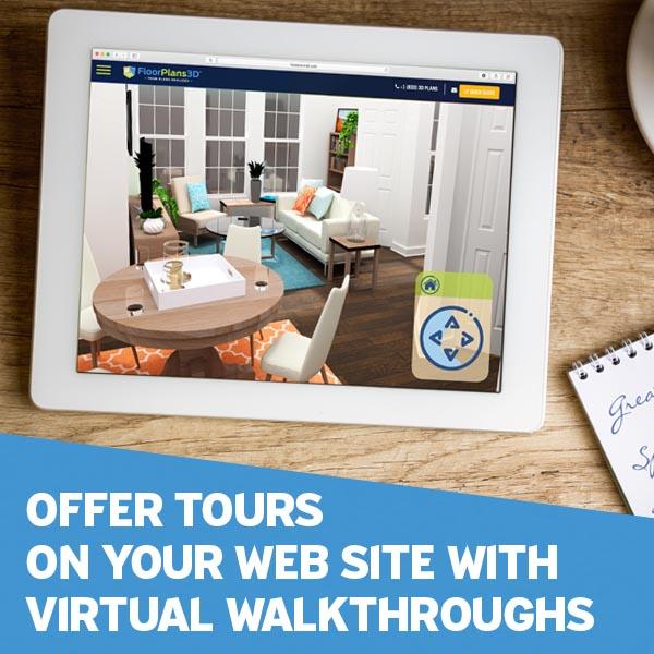 3D Walkthrough Tours