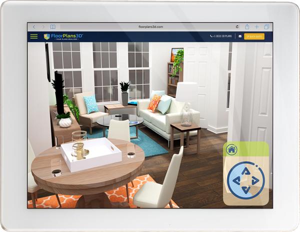 Virtual 3d Walkthrough Floor Plans 3d